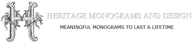 Heritage Monograms and Design